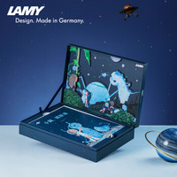 双11预售:LAMY 凌美 杨洋的童话小斑限定钢笔礼盒+狩猎伊甸绿钢笔 0.5mm