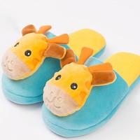 哆果橙 T0802- 宝宝棉拖鞋