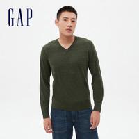 21日0点、双11预售:Gap 盖璞 485412 男装长袖针织衫