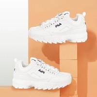 双11预售、88VIP:FILA 斐乐 DisruptorII 时尚运动女鞋