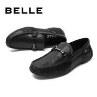 双11预售:BELLE 6BG11CM9 男士英伦风乐福鞋