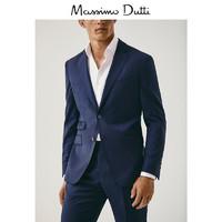 双11预售:Massimo Dutti 02004305400 男士纹理西装外套