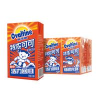 阿华田 泰迪熊联名款麦芽乳饮料 特浓可可味早餐奶 250ml*6盒 *6件