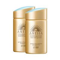 双11预售:ANESSA 安热沙 金瓶防晒霜 60ml 2020年版*2瓶装