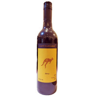 京东PLUS会员:快乐袋鼠 澳洲西拉子干红葡萄酒 750ml *3件