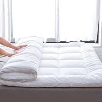 沿蔻家纺 全棉抗菌防螨床垫保护垫 90*200*5cm