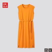 UNIQLO 优衣库 U系列 426029 女士纯棉连衣裙