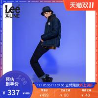 LeeXLINE 20秋冬新755标准小脚加厚男牛仔裤LMZ7552EX898
