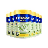 88VIP、限新客:Friso 美素佳儿 新加坡版 金装 较大婴儿配方奶粉 2段 900g