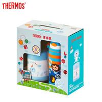 限地区:THERMOS 膳魔师 儿童保温杯吸管杯套装 +凑单品