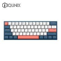 IQUNIX F60机械键盘缤纷cherry樱桃客制化热插拔青轴红轴茶轴游戏