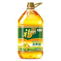 中粮福临门 非转基因黄金产地玉米食用油 4L *4件