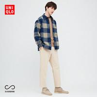 双11预售:UNIQLO 优衣库 428928 男士灯芯绒九分裤