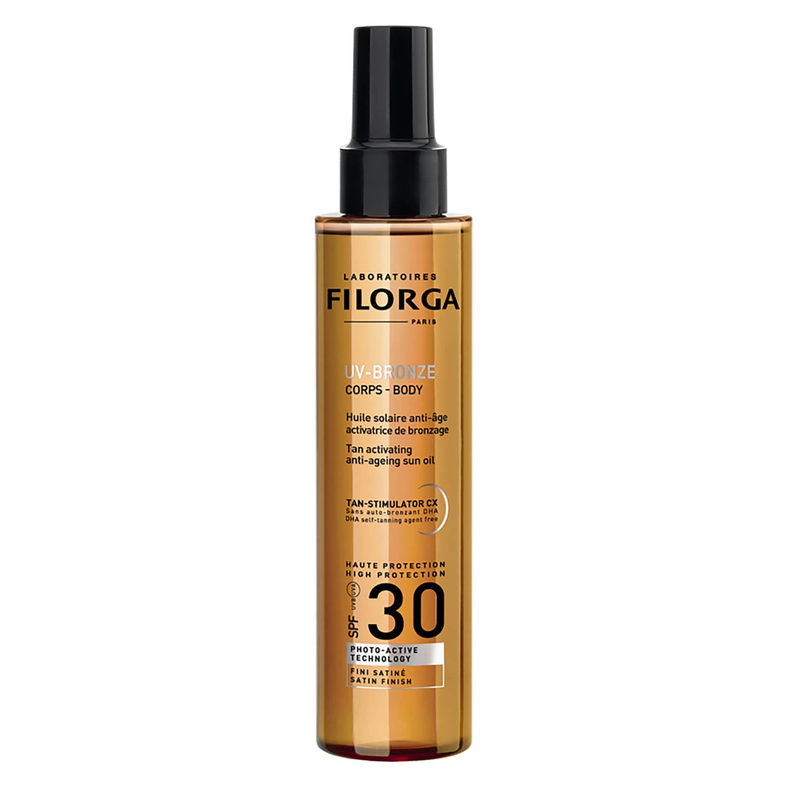 FILORGA 菲洛嘉 UV-BRONZE 抗衰老防曬身體油 SPF30 150ml