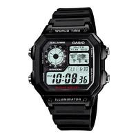 双11预售:CASIO 卡西欧 AE-1200WHB-1BVDF 多动能男士手表