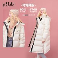 双11预售:妖精的口袋 AL4022A 女款时尚保暖羽绒服