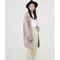双11预售:H&M 0874816 简约慵懒风长款开衫外套