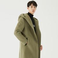 GXG GA126622G 男装长款羊毛大衣