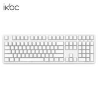 历史低价:ikbc W210 108键 2.4G无线 机械键盘(Cherry茶轴、PBT侧刻)