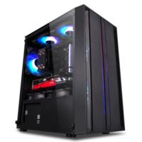 IPASON 攀升 组装台式机(i5-10400F、16GB、240GB、GTX1650)