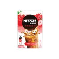 雀巢咖啡 特调果萃系列 草莓雪酪风味 19g*8条 *10件
