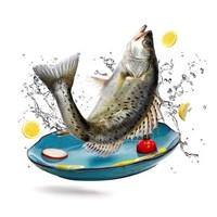 京东PLUS会员、限地区:海名威  冷冻鲜蒸三去海鲈鱼 450g*6+国产冷冻东海小黄鱼 500g 16-20条 *3