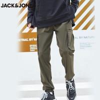 双11预售:Jack Jones 杰克琼斯 219314516YS 男士弹力束脚工装裤