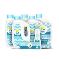 立白 平衡点 洗碗粉1.12kg*5瓶+洗完盐一袋+漂洗剂一瓶+清洁剂一盒
