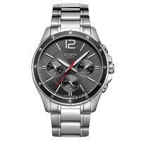 考拉海购黑卡会员:CASIO 卡西欧 MTP-1374D-1A 男士时装腕表