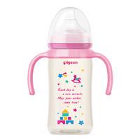 88VIP:Pigeon 贝亲 婴儿宽口径ppsu奶瓶  240ml 配M号奶嘴