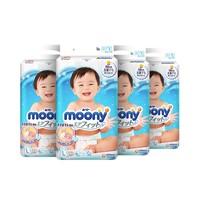 双11预售、88VIP:Moony 尤妮佳 婴儿纸尿裤 L54片*4包