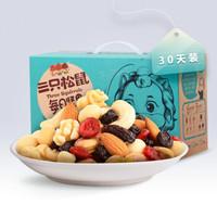 双11预售:Three Squirrels 三只松鼠 每日坚果礼盒 750g