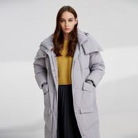 波司登 B90141538DS 中长款保暖羽绒服面包服外套