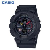 双11预售:CASIO 卡西欧 G-SHOCK系列 GA-140BMC-1A 防震防磁男士手表