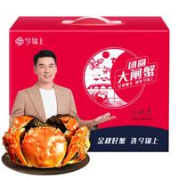 京东PLUS会员、送礼佳品:今锦上 鲜活大闸蟹现货 4对8只