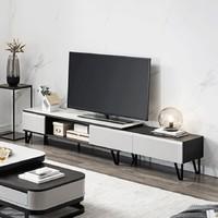 CHEERS 芝华仕 PT013 钢化玻璃可伸缩电视柜 1.68-2.6m