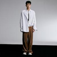 双11预售:马克华菲 跨界无性别系列 7104103017603213 中性长袖衬衫