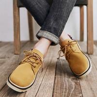 双11预售:WARRIOR 回力 WBN3181 男士保暖短靴