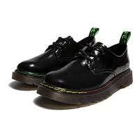 双11预售:AOKANG 106322221 女士英伦系带皮鞋