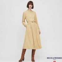 1日0点:UNIQLO 优衣库 设计师合作款 430469 印花系带连衣裙