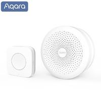 双11预售:Aqara 绿米联创 智能门铃套装 网关+无线开关升级版