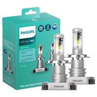 双11预售:PHILIPS 飞利浦 耀白光 H4/H7 汽车LED大灯 1对装