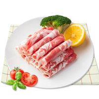 京东PLUS会员、限地区:澳纽宝 新西兰原切羔羊肉卷/肉片 500g/袋 *5件