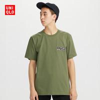 UNIQLO 优衣库 430191 中性印花T恤