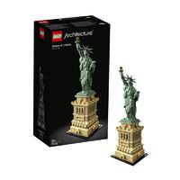 双11预售、考拉海购黑卡会员:LEGO 乐高 建筑系列 21042 自由女神像