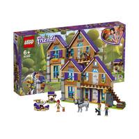 双11预售、考拉海购黑卡会员:LEGO 乐高 Friends 好朋友系列 41369 米娅的林中别墅