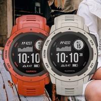 双11预售:GARMIN 佳明 Instinct 本能 GPS蓝牙心率手表