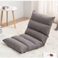 OLOEY 可折叠懒人沙发榻榻米 18格深灰色
