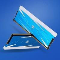 双11预售:GALAXY 影驰 Gamer Blue DDR4 3600 16G(8G*2 )灯条台式机内存条