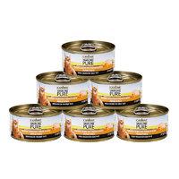 24日10点、考拉海购黑卡会员:CANIDAE 卡比 PURE系列 鸡肉丝与南瓜猫罐 70克/罐*6